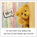 We have been very happy with the level of care Rowan has received.